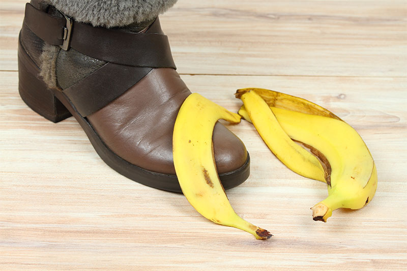 Polish your shoes with a banana