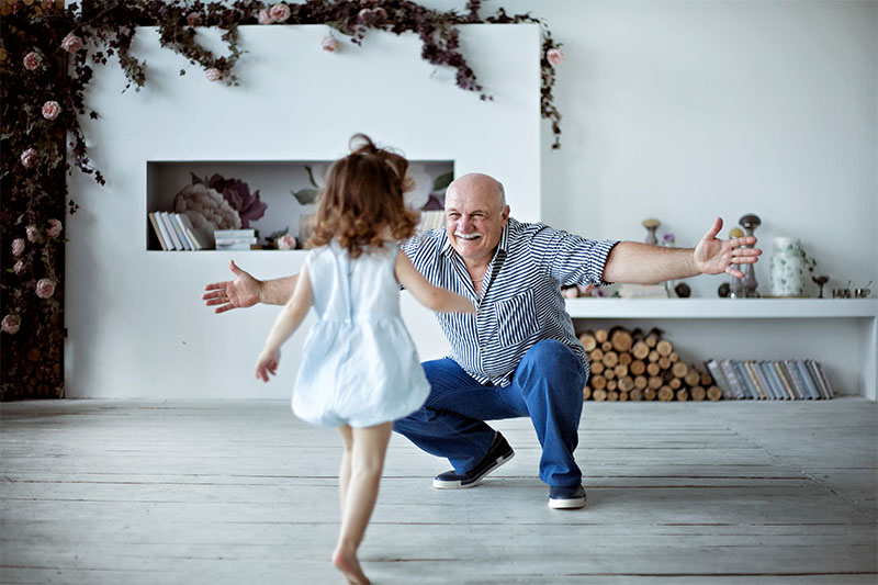 Grandkids Are Less Likely To Grow Up Depressed