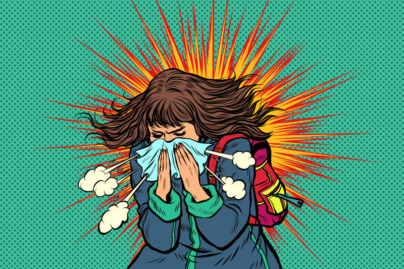 10 Reasons You Can't Stop Sneezing - and What You Can Do About It
