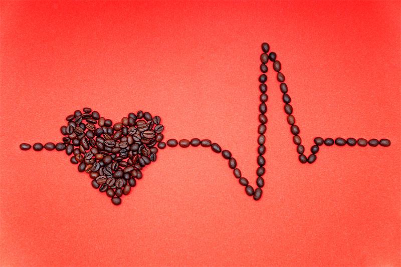 Caffeine heart