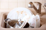 You Should Rethink Letting Your Dishes Soak in The Sink. Here's Why.