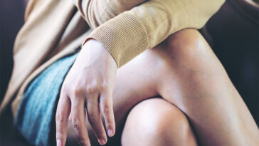 This Is Why You Actually Shouldn't Be Sitting With Your Legs Crossed