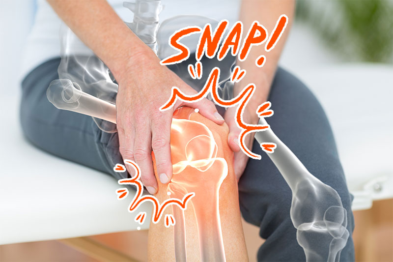 Do You Have Snapping Knees? This Is What It Means And How You Might Fix It