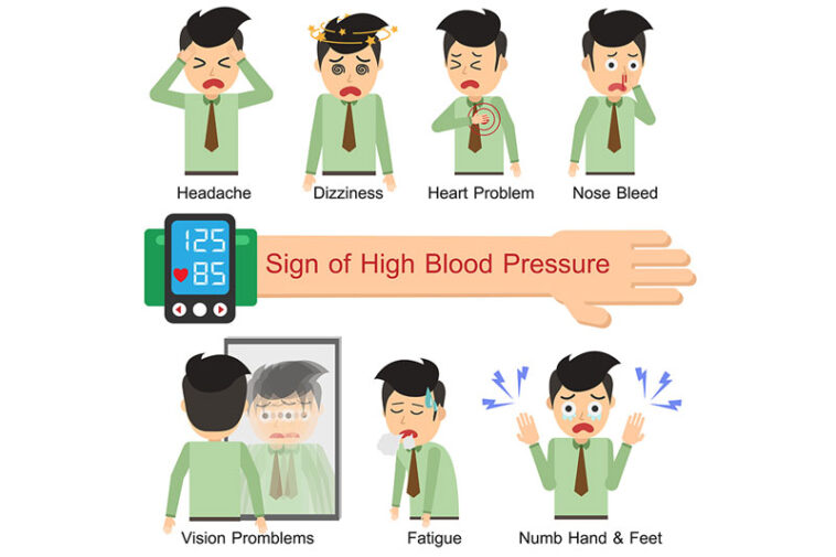 6 Early Warning Signs of High Blood Pressure